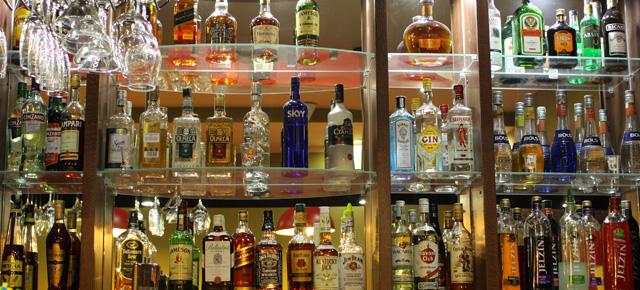 Nabídka nápojů